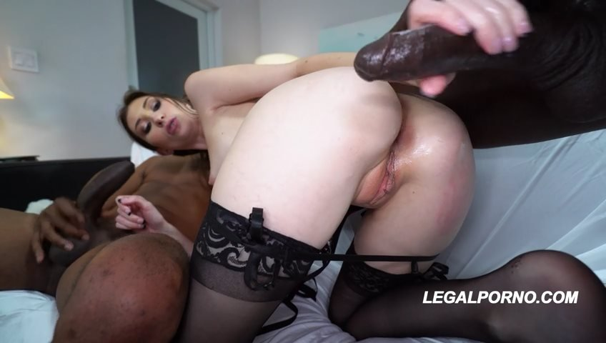 LegalPorno - Angelina Diamanti - First Ever IR DP Destroyed Angelina Diamanti Stretched Out balls deep slapping choking AA035 [SD / Toys /  2018]