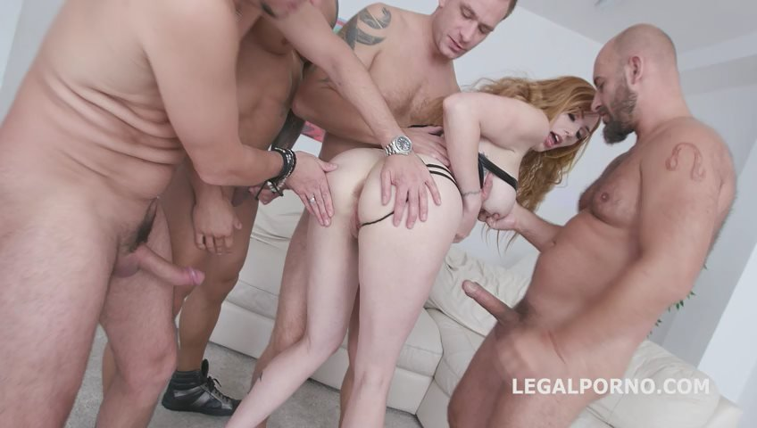 LegalPorno - Lauren Phillips - Monsters of DAP Lauren Phillips gets Balls Deep Anal, DAP, Gapes, TP, Facial GIO826 [SD / Gangbang /  2018]