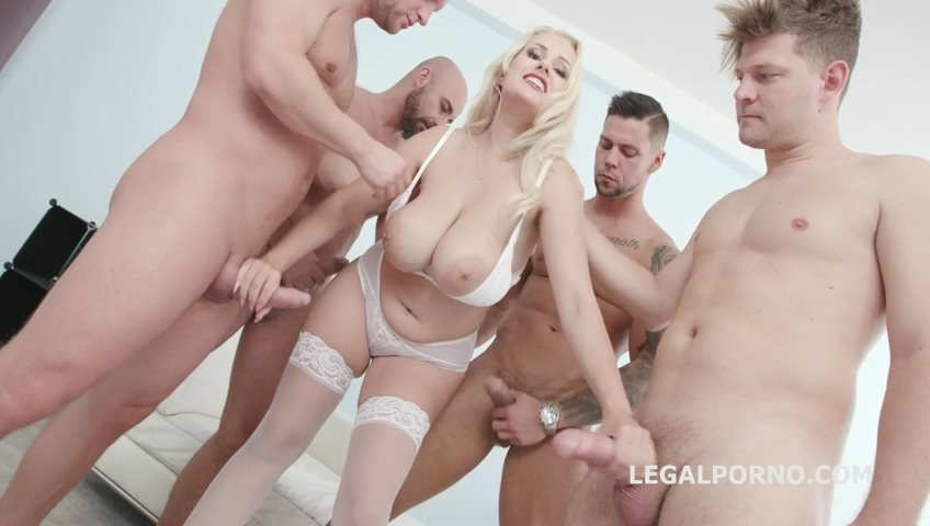 LegalPorno - Angel Wicky - BlackEned with Angel Wicky 4 white then 4 black Balls Deep Anal DAP Gapes Cum on Tits Facial GIO849 [SD / Facial /  2018]