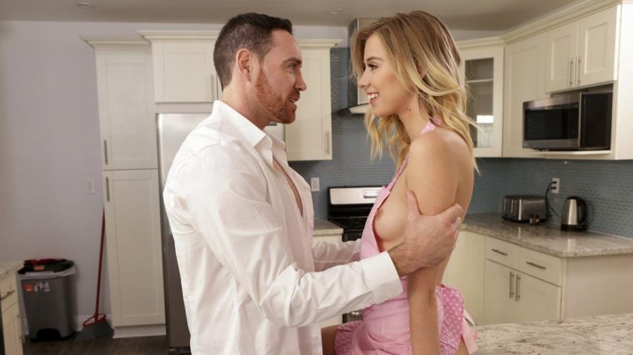 DaddysLilAngel.com / Nubiles-Porn.com - Haley Reed - Seducing Daddy [SD / Blonde /  2018]