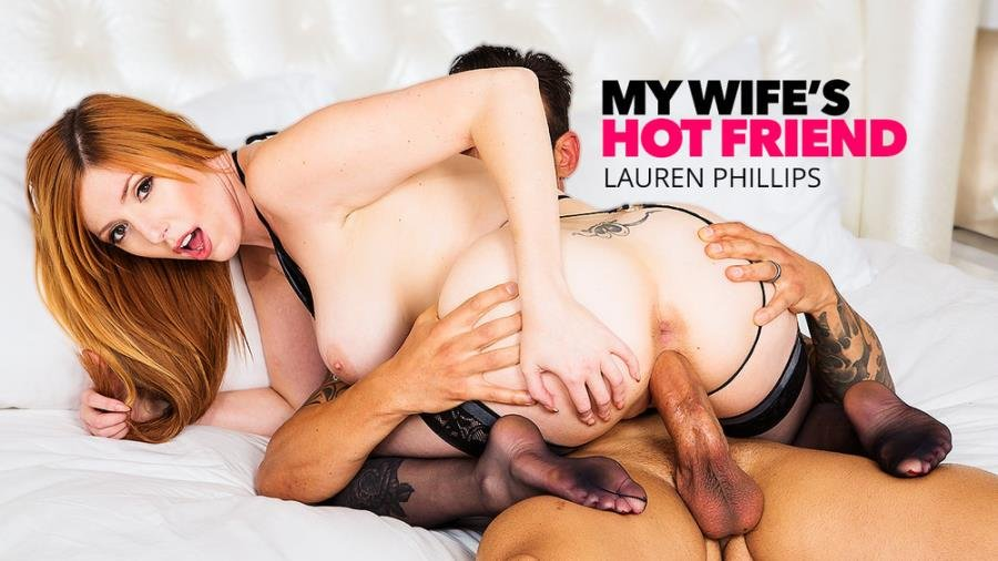 MyWifesHotFriend.com - Lauren Phillips - Lauren Phillips Milks A Big Cock [SD / Big Tits /  2018]