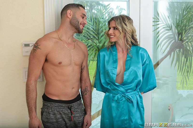 MilfsLikeItBig.com - Cory Chase - Hot  Sweaty Day [SD / Blonde /  2018]
