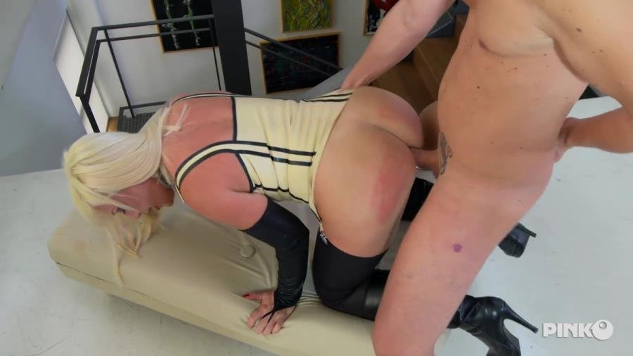PinkoClub.com - Cristhie Dom - Mistress Gets Buggered By Her Slave [SD / Blowjob /  2018]