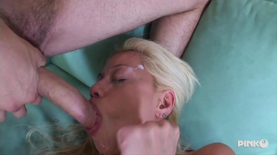PinkoClub.com - Alex Dane - Hot Blonde Deep Throats Cock Before Have It In Her Pussy [SD / Blonde /  2018]