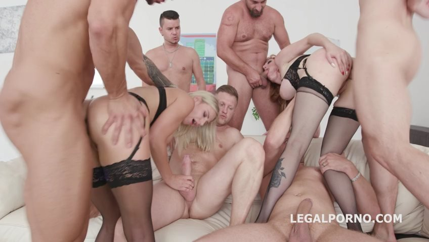 Legal - Natalie Cherie - Red Vs Blond #2 Lauren Phillips  Natalie Cherie following with Balls Deep Anal, Gapes, Multiple DAP, Messy Cumshot GIO705 [SD / Big Tits /  2018]