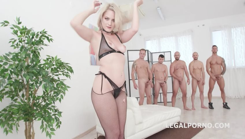 LegalPorno - Lisey Sweet - Monsters of TAP, Lisey Sweet gets 4on1 with Balls deep Anal  DAP, TAP, Dapes, Swallow GIO816 [SD / Gangbang /  2019]