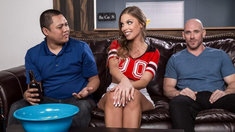 RealWifeStories - Britney Amber - Game Day Dicking [SD / Blowjob /  2019]