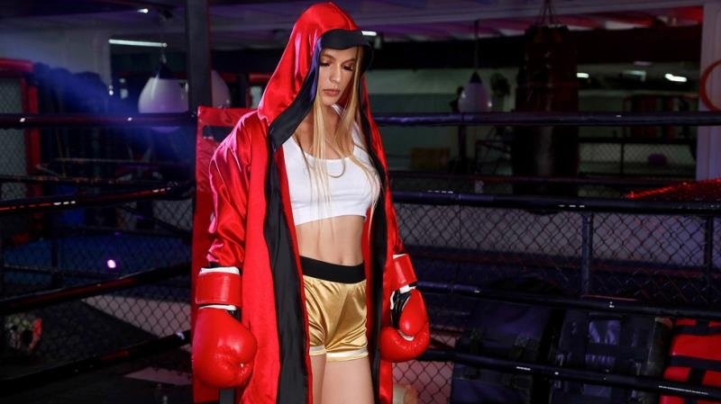 BabyGotBoobs.com / Brazzers.com - Sloan Harper - Boxing Babe [SD / Blonde /  2019]