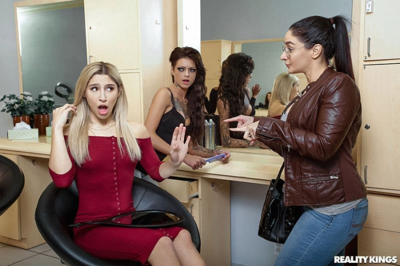 SneakySex.com - Abella Danger - Dont Bring Your Husband To The Salon [SD / Blowjob /  2019]