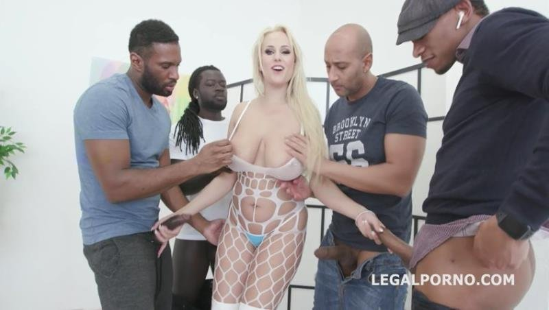 LegalPorno.com - Angel Wicky - Waka Waka Blacks are coming Angel Wicky gets 5 BBC Balls deep anal, DAP, Gapes, Creampie GIO1080 [SD / Gangbang /  2019]