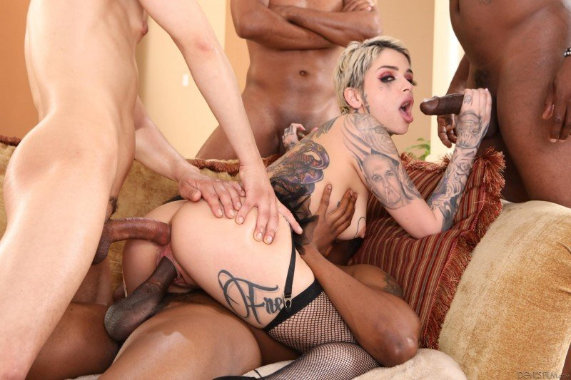 DevilsFilm.com -  Leigh Raven - Blacked Out #11 [SD /  /  2019]