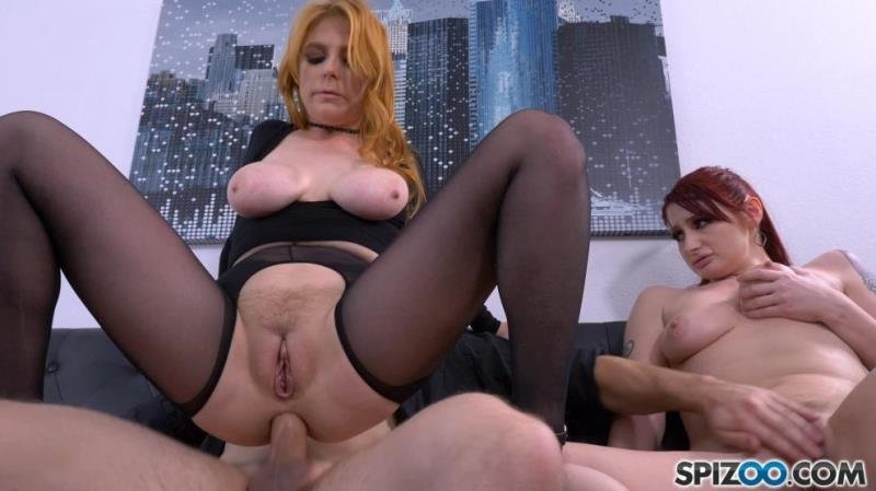 Spizoo.com - PENNY PAX, VIOLET MONROE - The New Boss Is Hot As Fuck [SD / Blowjob /  2019]