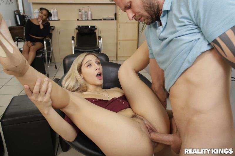 SneakySex.com - Abella Danger - Dont Bring Your Husband To The Salon [SD / Blonde /  2019]