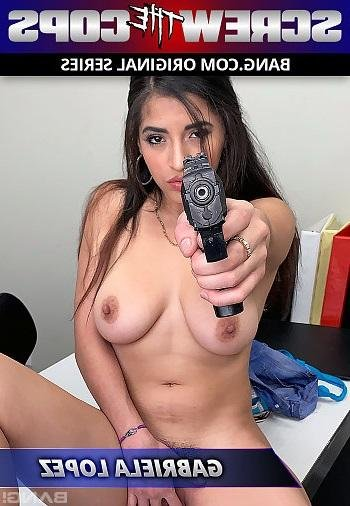 Bang.com - Gabriela Lopez - Runs From The Cops And Gets Fucked As Punishment [SD /  /  2019]