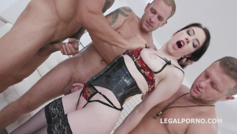 Legal - Anna de Ville - Manhandle Anna de Ville goes Rough with Balls Deep Anal, Big Gapes, DAP, Gapefarts, Swallow GIO1150 [SD / Gangbang /  2019]