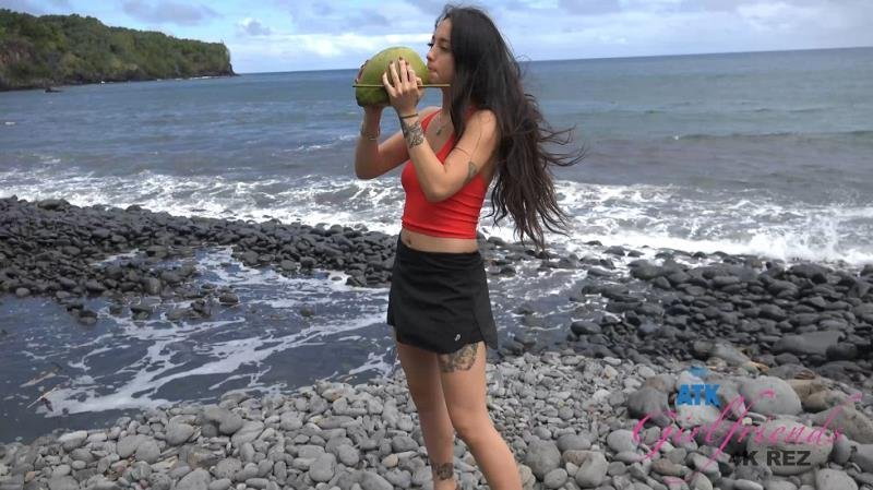 ATKGirlfriends.com - Mi Ha Doan - Virtual Vacation Hawaii 11/14 [SD / Blowjob /  2019]