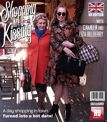 Mature.nl - Camilla C. (EU) (45), Liza Billberry (25) - After their shopping date they went home for some kissing and then some [SD / Milf /  2019]