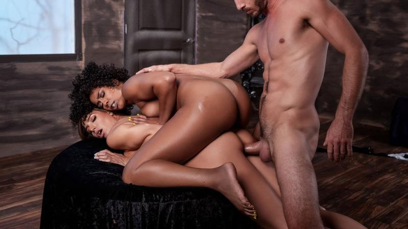 MilfsLikeItBig.com / Brazzers.com - Desiree Dulce  Misty Stone - MILF Witches Part 3 / 31.10.2019 [SD / Latina /  2019]