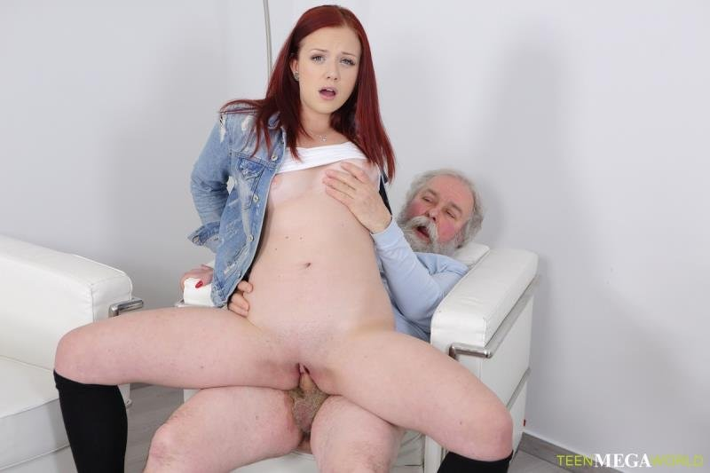 Old-n-Young.com - Tiffani Love - Old Man Shoots Hottie In Sperm [SD / Blowjob /  2019]