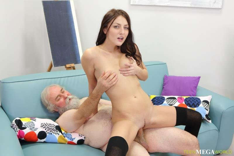 Old-n-Young.com - Katy Rose - Uneven-Aged Doggy Orgasm [SD / Blowjob /  2019]