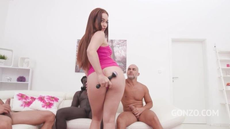 LegalPorno.com - Ginebra Bellucci, Cristian Clay, Angelo Godshack, Freddy Gong - Ginebra Bellucci 3on1 fuck session with DP, DAP DVP SZ2269 (2019) SD 480p [SD / Gangbang /  2019]