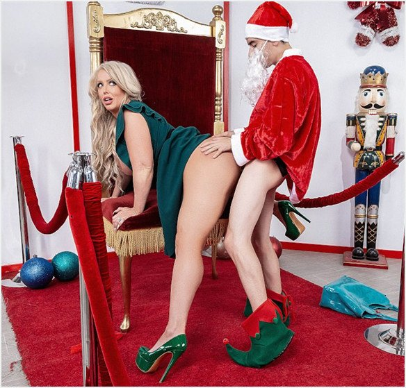 Lilhumpers.com - Alura Jenson - The Naughtiest Lil Elf [SD / Milf /  2019]