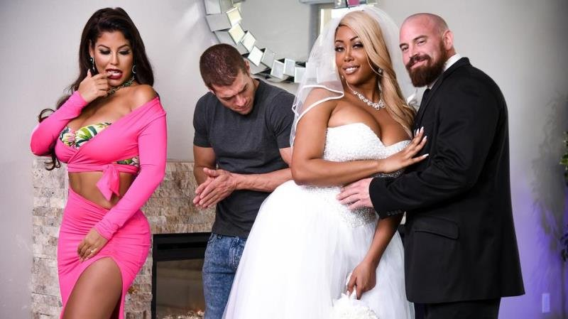 Brazzers.com - Bridgette B, Moriah Mills - Moriah's Wedding Shower [SD / Blonde /  2020]