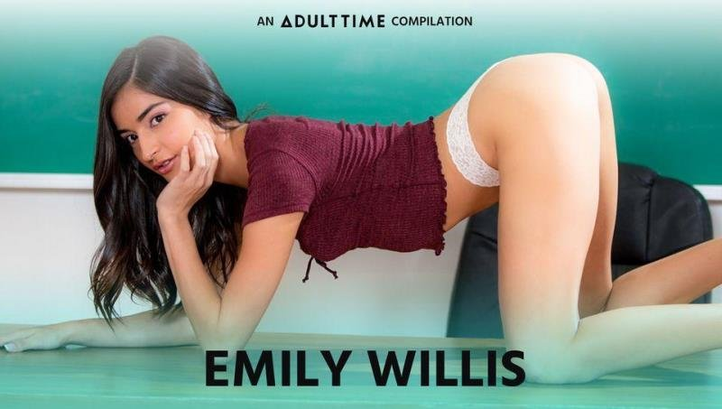AdultTime.com - Emily Willis - An Adult Time Compilation [SD / Blowjob /  2020]