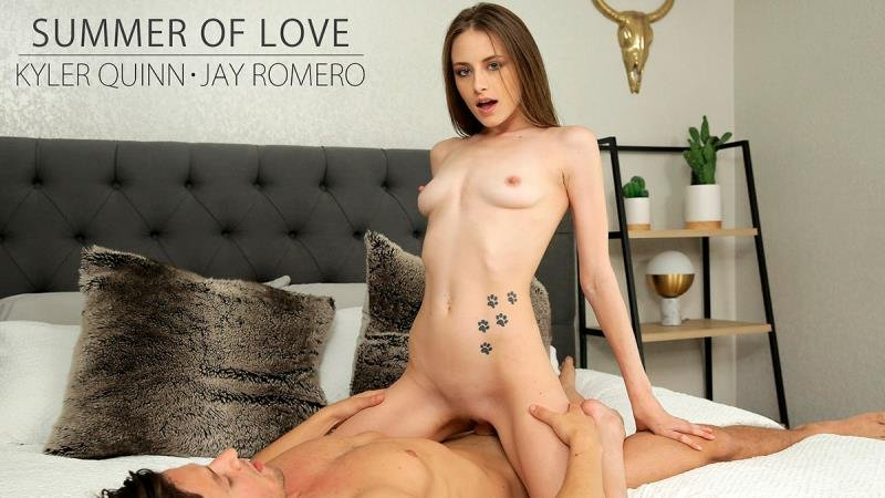 NubileFilms.com - Kyler Quinn - Summer Of Love [SD / Blowjob /  2020]