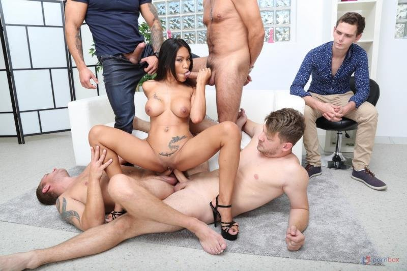 LegalPorno.com - Polly Pons - Cuckold Dream with Polly Pons, 4on1 Balls Deep Anal, DAP, Gapes and Facial GIO1604 [SD / Gangbang /  2020]