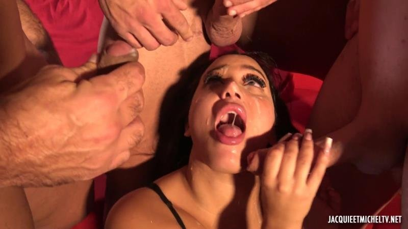 JacquieEtMichelTV.net - Zarah - There Are Never Too Many Men For Zarah! [SD / Gangbang /  2020]