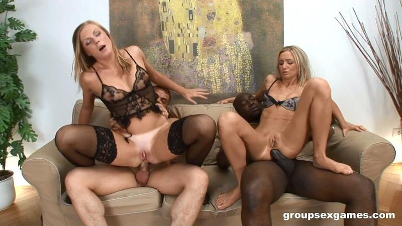 GroupSexGames.com - Carmeron Gold  Ulrika - Two Hot Sluts Enjoy In Group Sex [SD / Group /  2021]